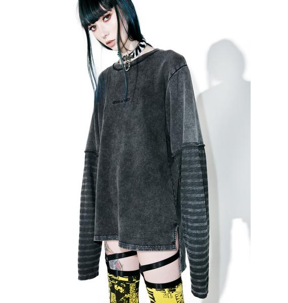 Disturbia Destroy Long Sleeve Sweater