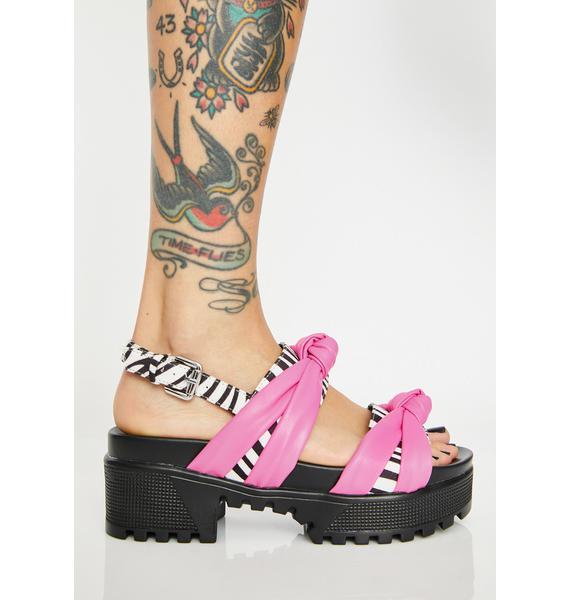 Candy Kingdom Platform Sandals