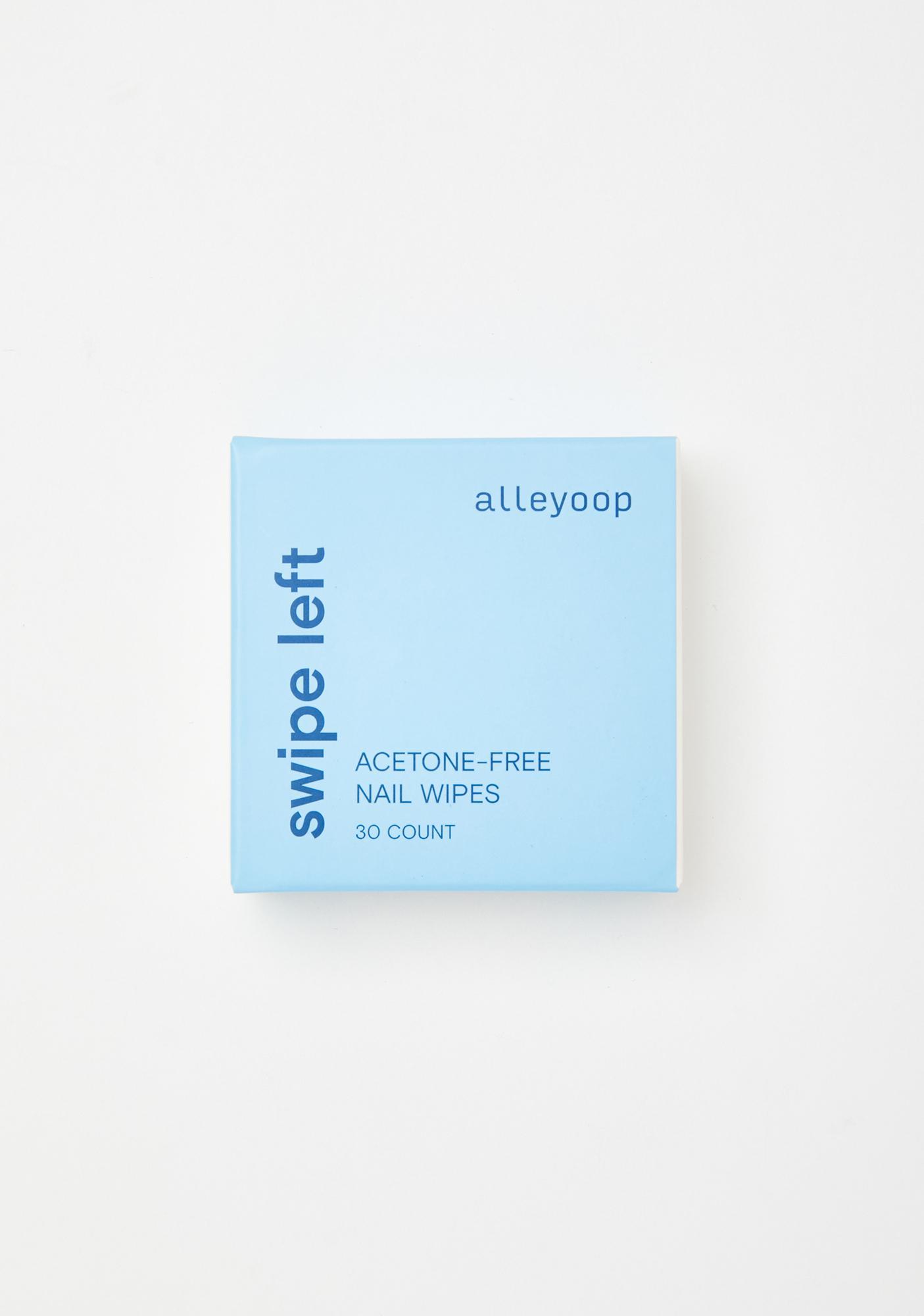 Alleyoop Swipe Left Acetone-Free Nail Wipes