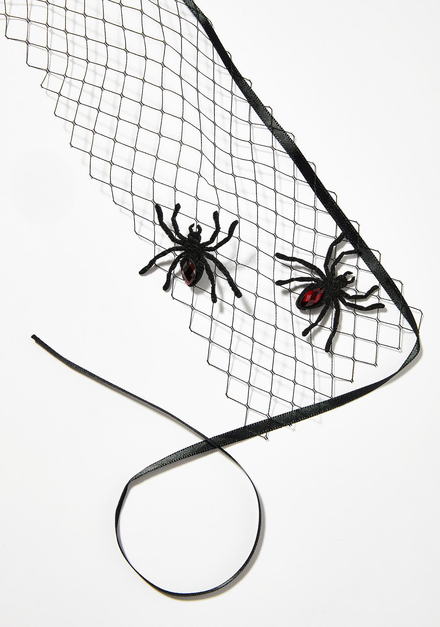 Night Widow Spider Veil