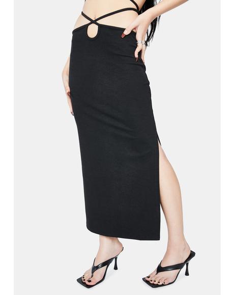 Boa Midi Skirt