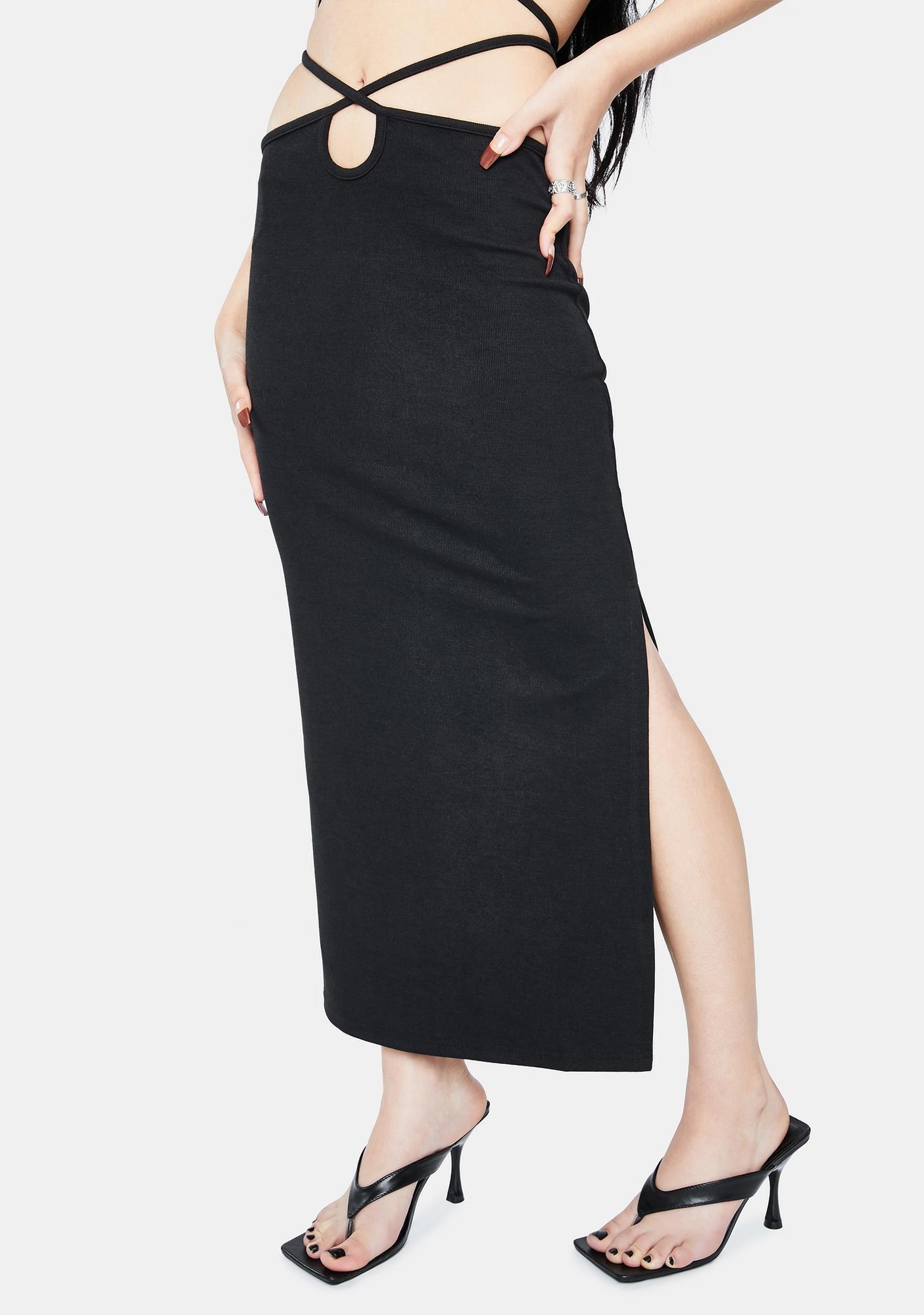 Twiin Boa Midi Skirt