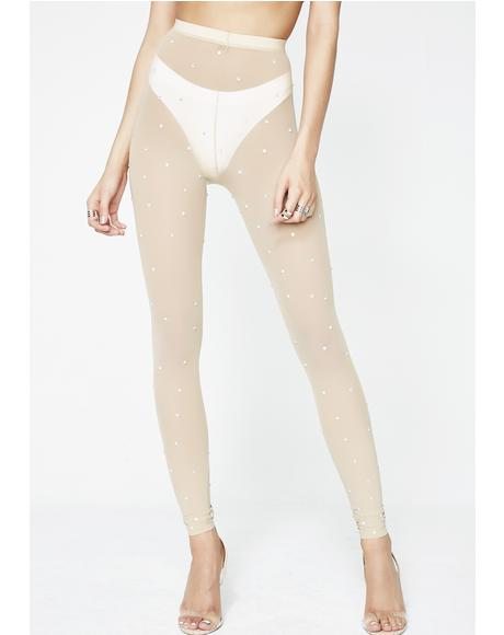 Shine On Sheer Leggings