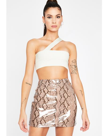 Toxic Trendsetter Vinyl Skirt