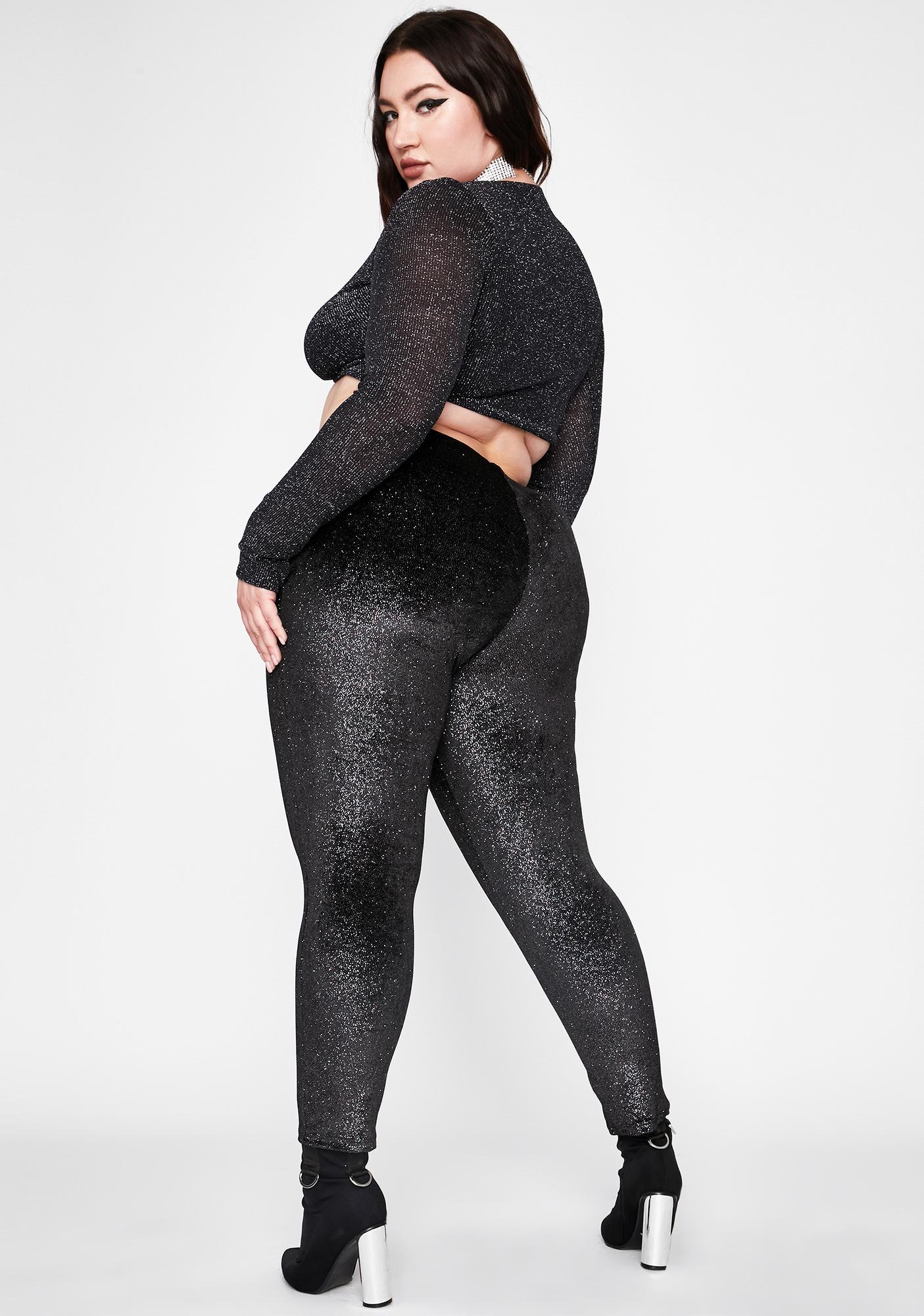 She's Forever Lux Glitter Pants