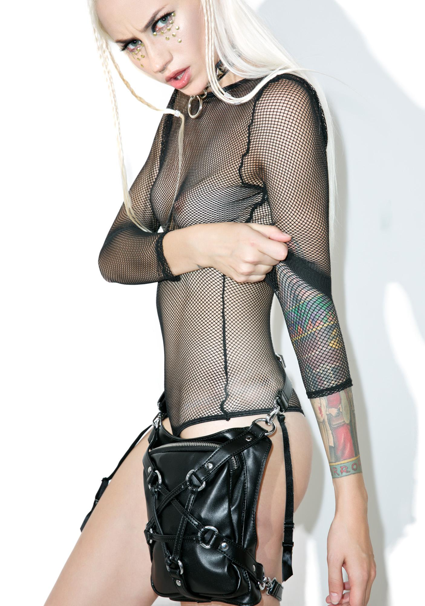 Sentry Fishnet Bodysuit