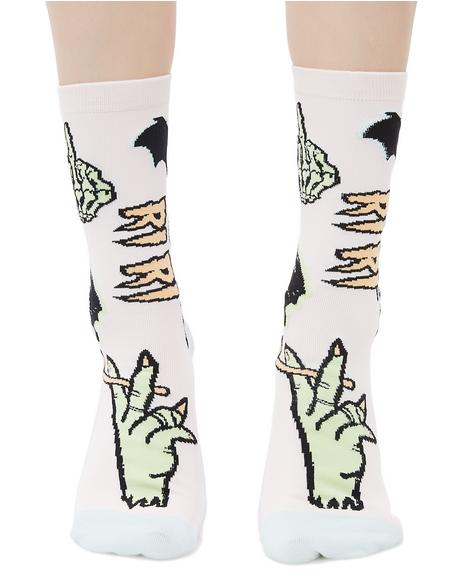 Punk N' Patch Socks