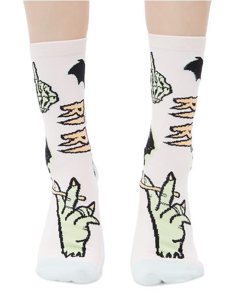 Punk N' Patch Socks