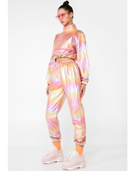 Space Runner Metallic Tracksuit