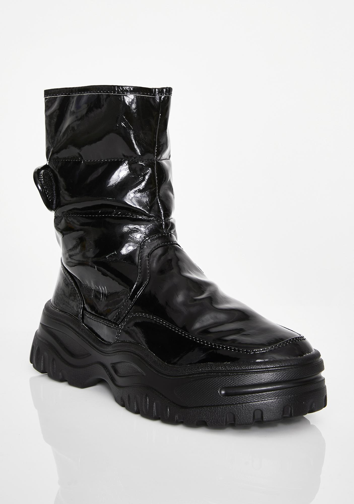 Blackout Atmospheric Freeze Puffer Boots