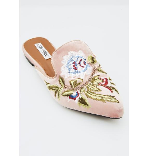 Blush Bloomed Love Mules