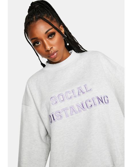 Social Distancing Crewneck