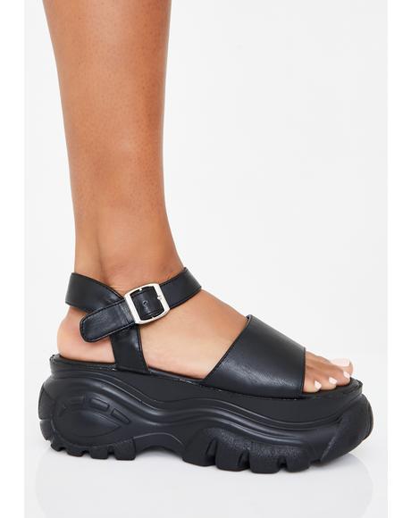 Come Correct Platform Sandals