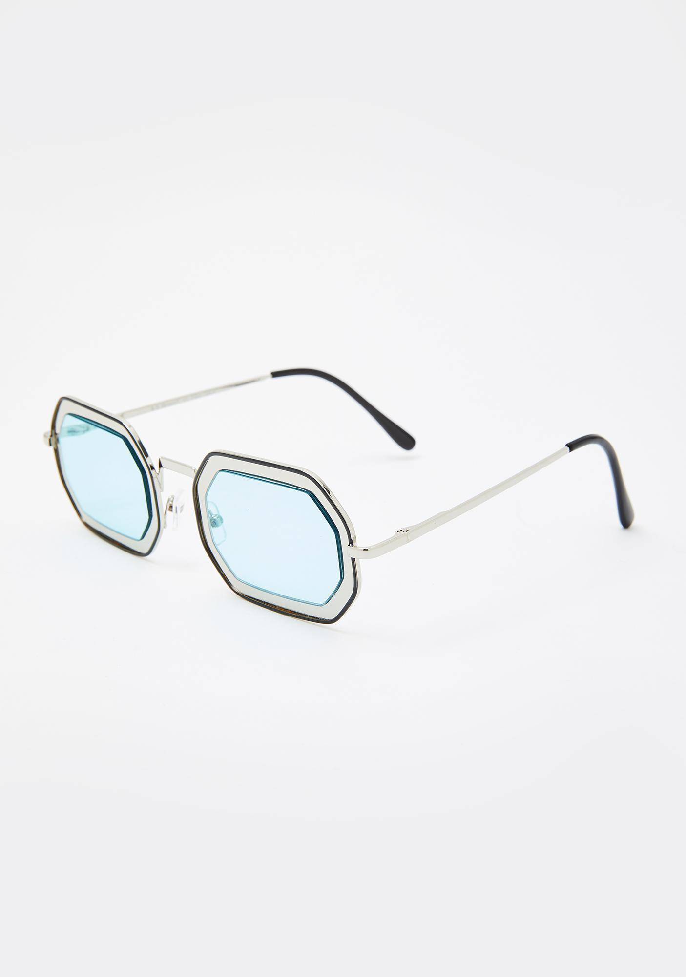 Tidal Zone Oval Sunglasses