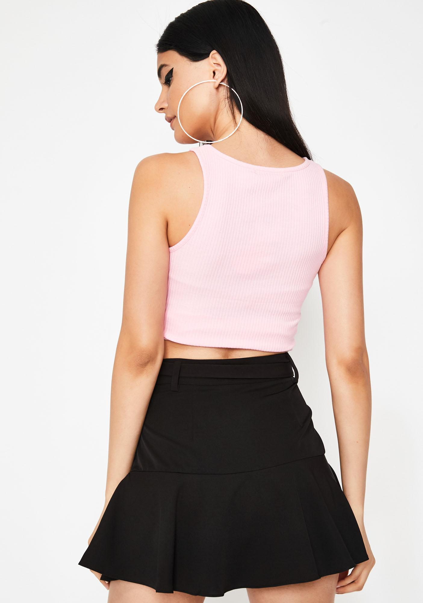 Wicked Cute Confessions Mini Skirt