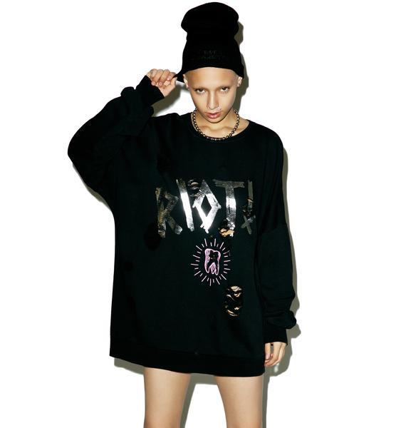 Happiness x Hanna Beth Riot Sweatshirt