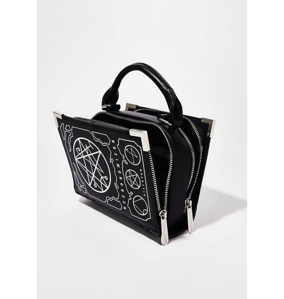 Killstar Necronomicon Handbag