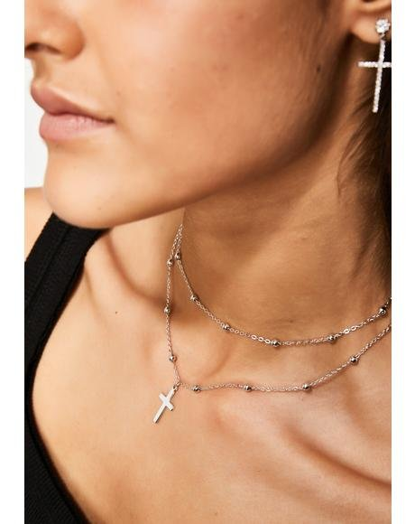 Holy Sinner Layered Choker