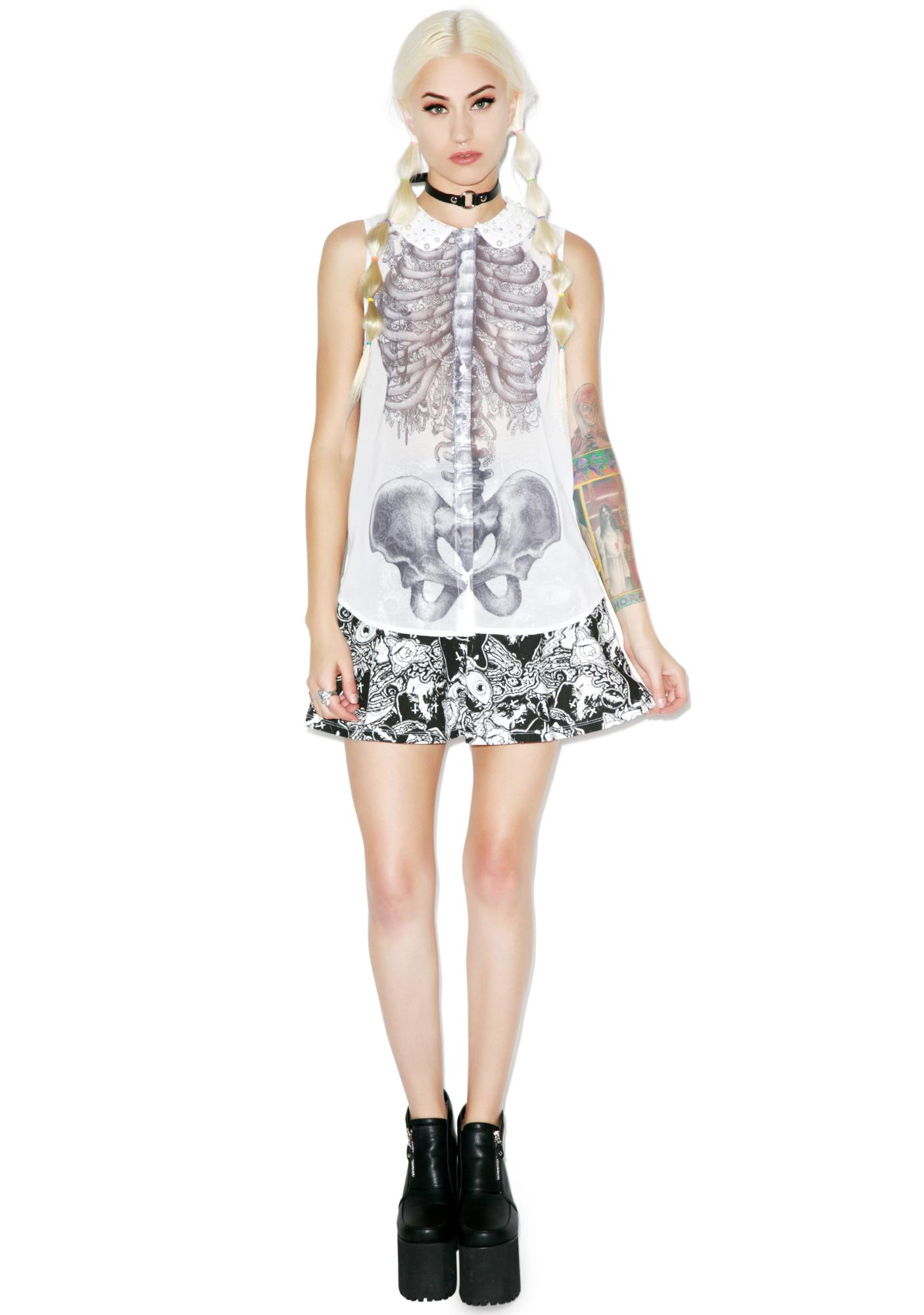 Iron Fist Creepers Peterpan Blouse