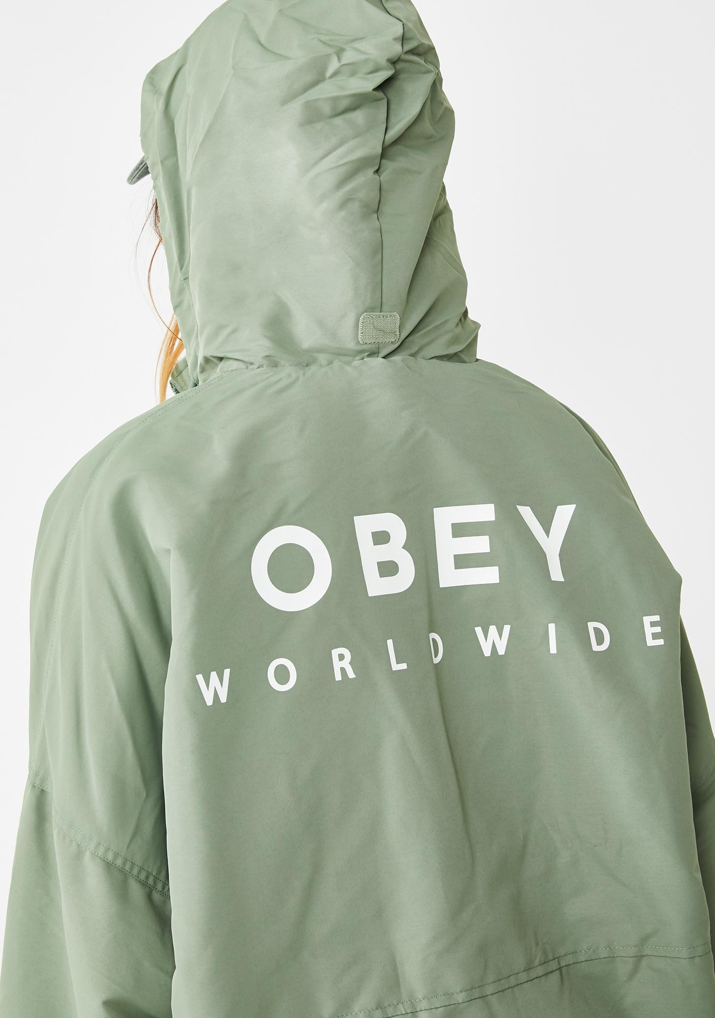 Obey Montaigne Parka Jacket
