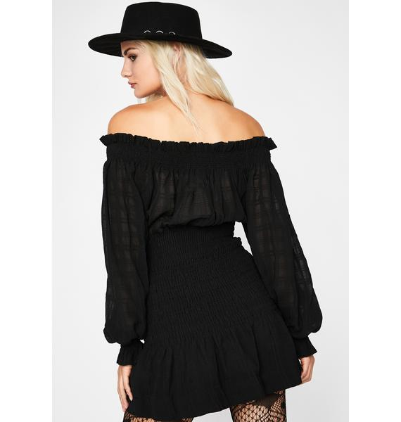 Wicked Whenever Love Smocked Dress