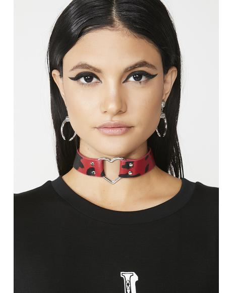 In The Mooo-d Heart Choker