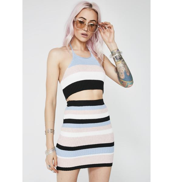 Funny Feeling Striped Set