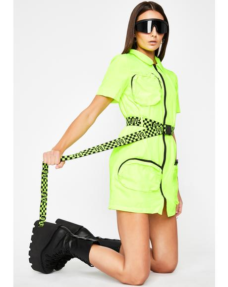 Nuclear Fantasia Funk Cargo Dress