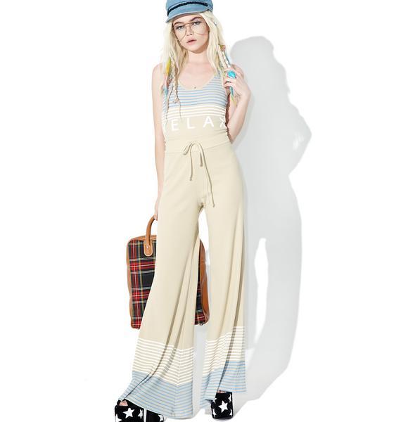 Wildfox Couture Port Stripes Stardust Pants