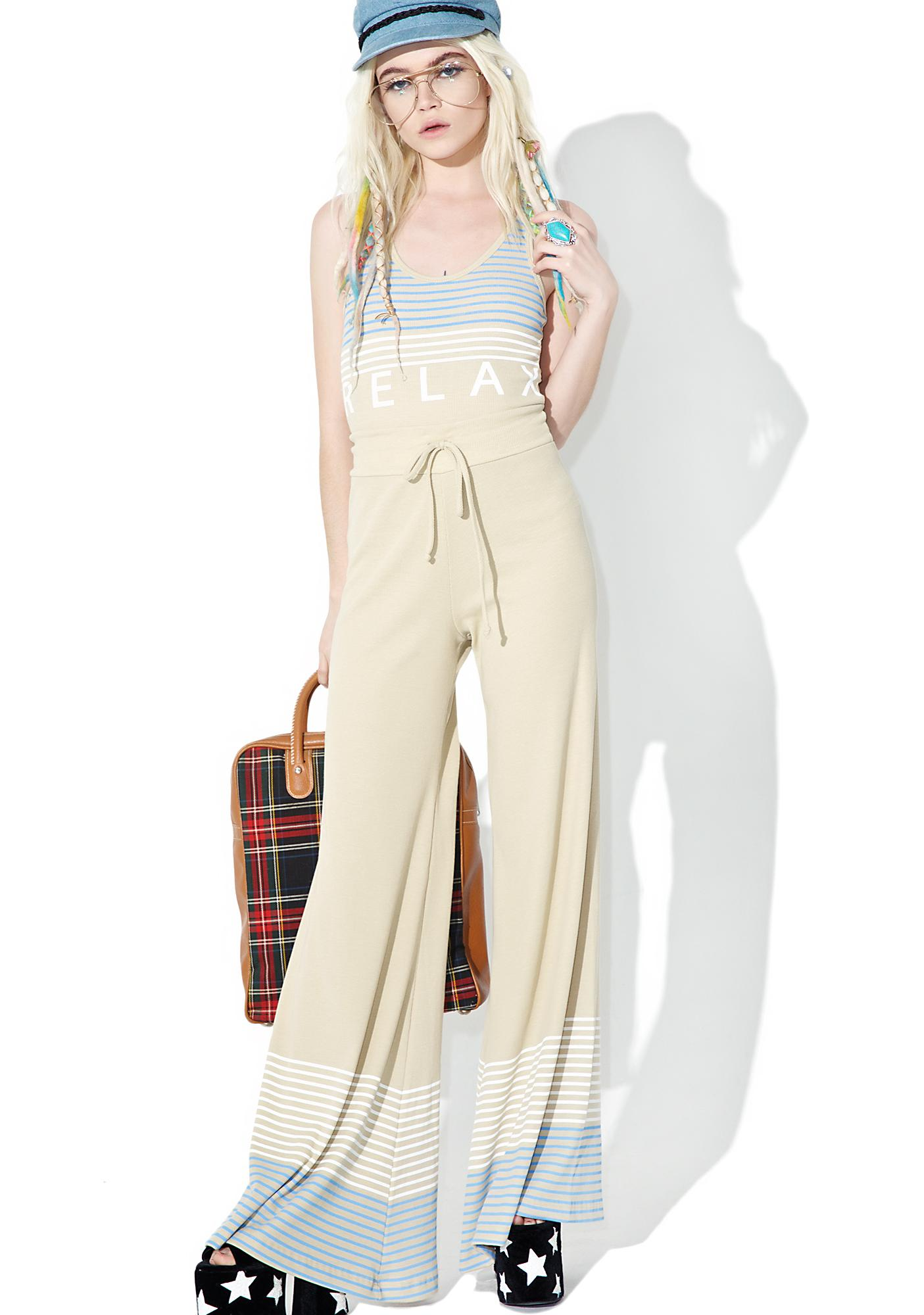 Wildfox Couture Port Stripes Stardust Pants