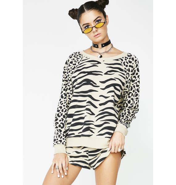 Wildfox Couture Easy Tiger Sommers Sweater
