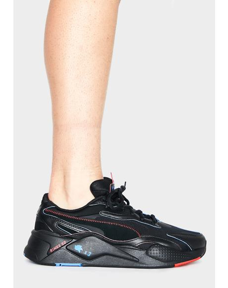x Sonic Black RS-X3 Sneakers