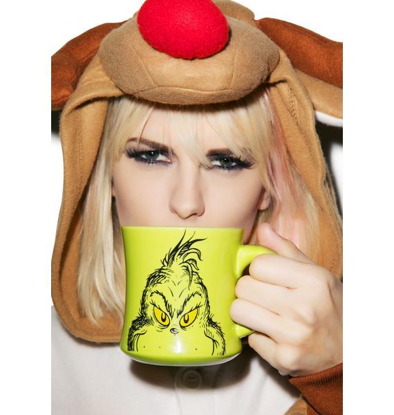 Grinch Holiday Ceramic Mug