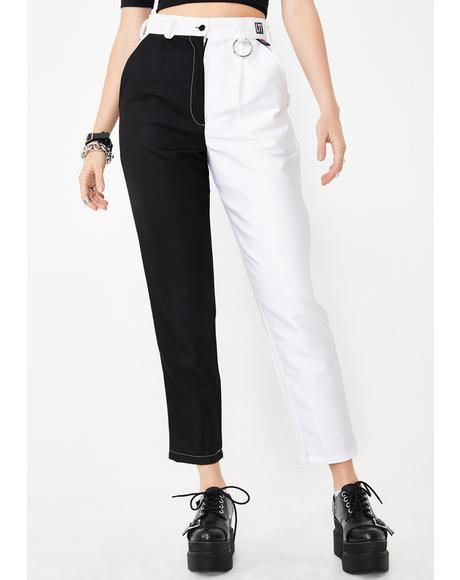 Yin To My Yang Clash It Trousers