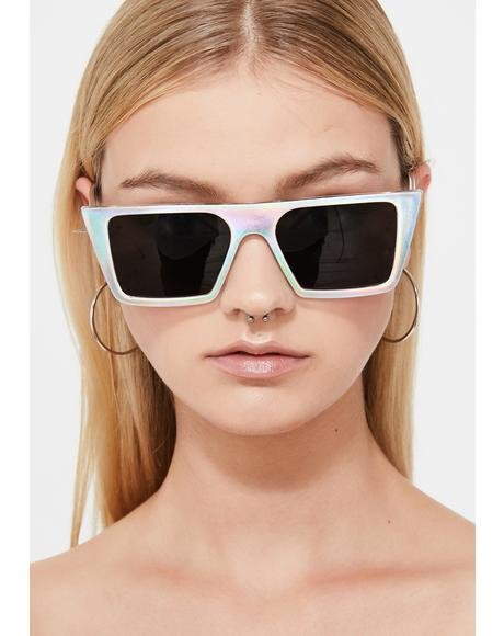 Euphoric Fix Holographic Sunglasses