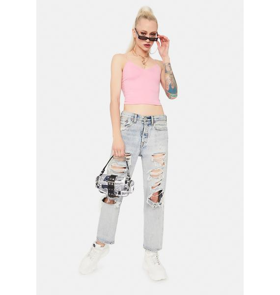 All For You Cami Crop Top