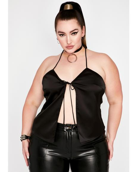 Your Legendary Secrets Satin Top