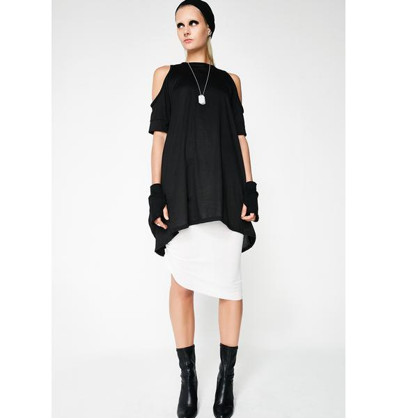 MNML Maia Cold Shoulder Tunic
