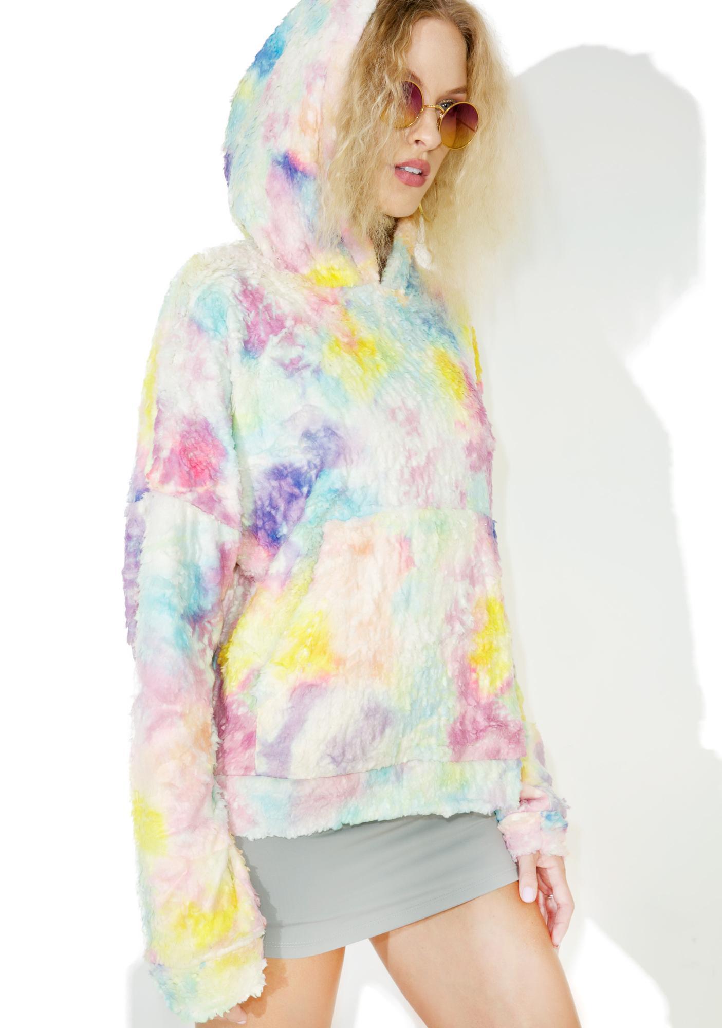Jaded London Rainbow Snuggle Hoodie