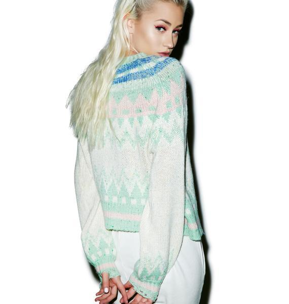 Wildfox Couture Fairisle Fancy Tate Sweater