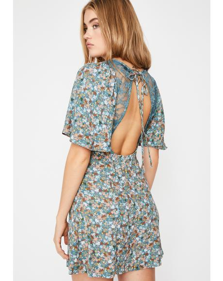Love Too Good Floral Dress