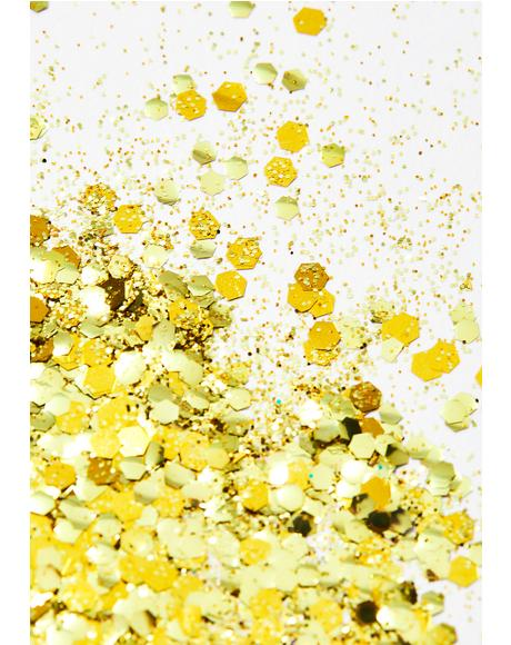 Gold Rush Biodegradable Glitter Tube
