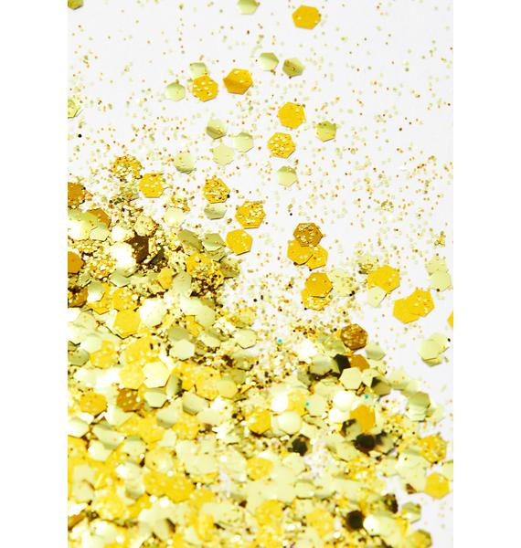Projekt Glitter Gold Rush Biodegradable Glitter Tube