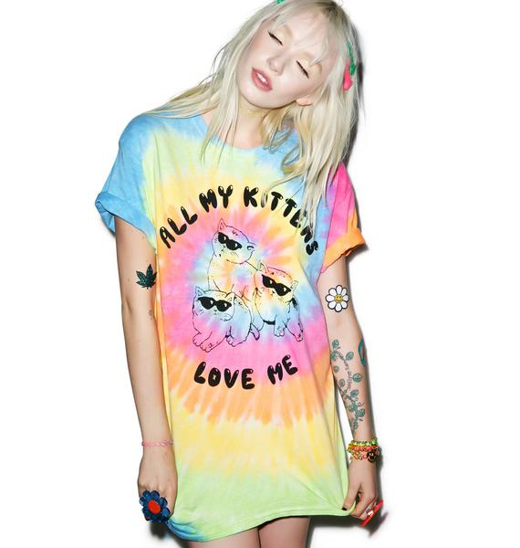 Burger And Friends All My Kittens Tee