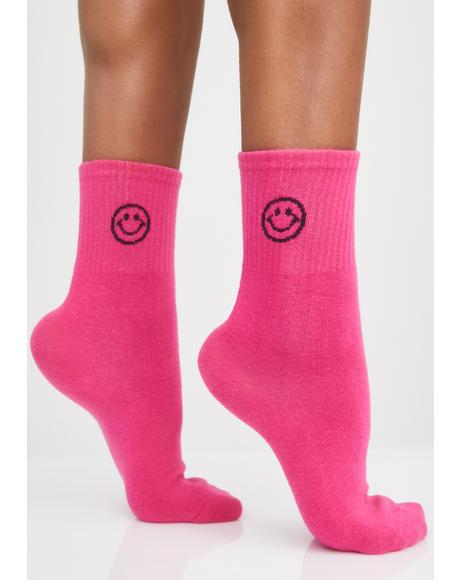 Lolly Smile Squad Crew Socks