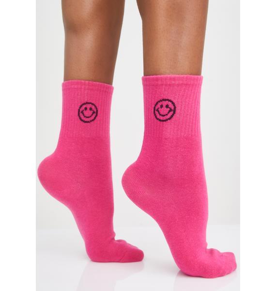 Lolly Smile Squad Crew Socks