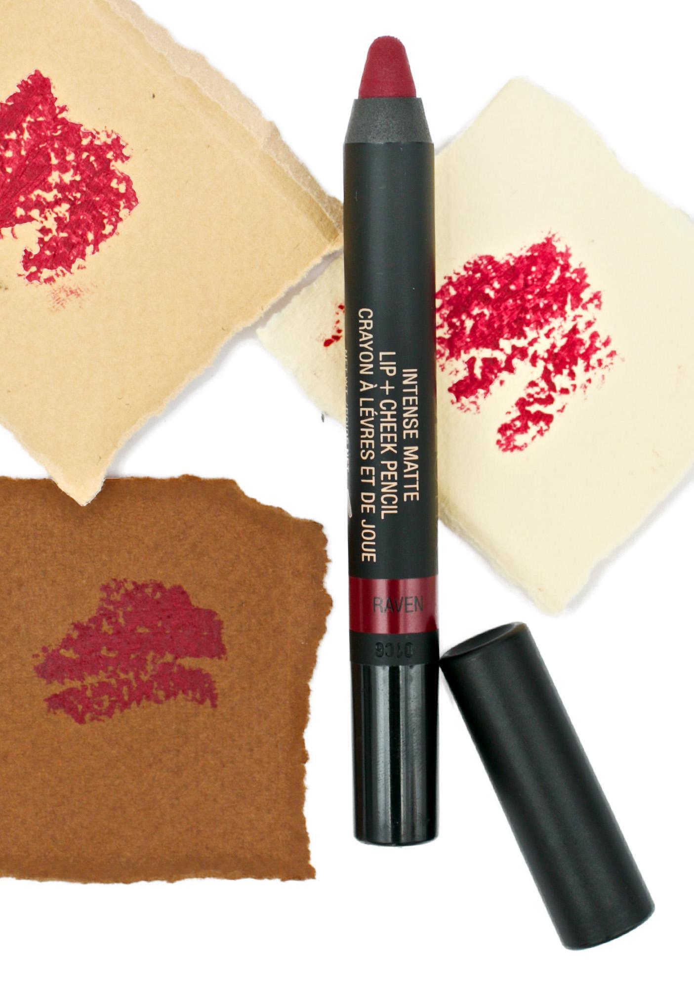 Nudestix Raven Matte Lip + Cheek Pencil