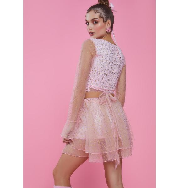 Sugar Thrillz Just Like Magic Mini Skirt