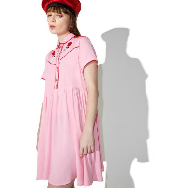 Lazy Oaf Western Rose Dress