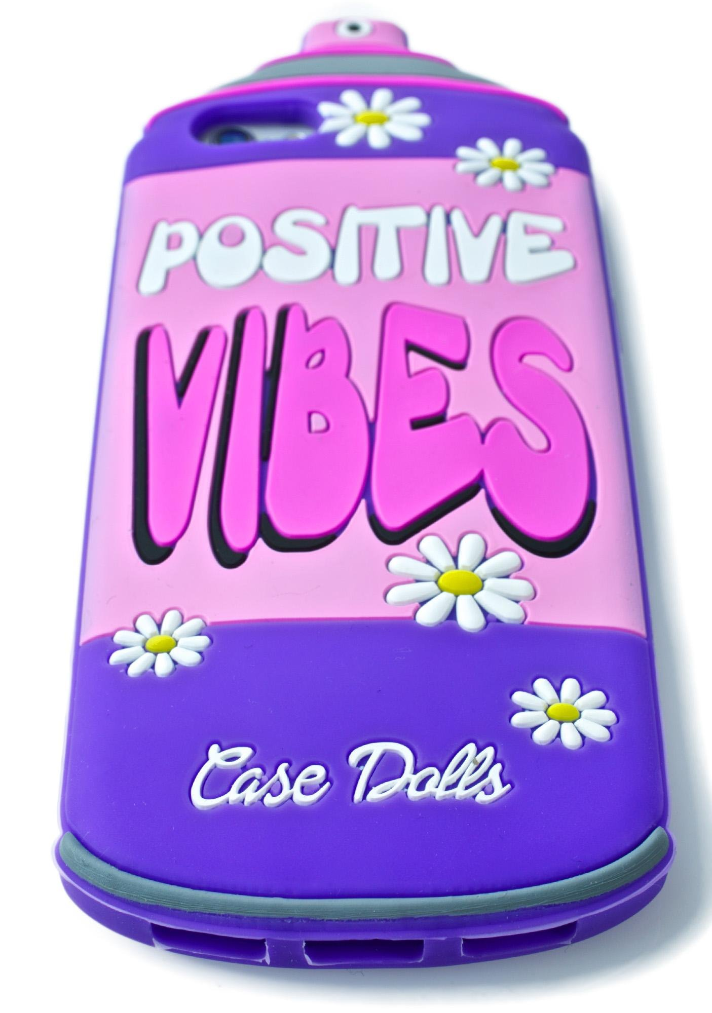 Case Dolls Positives Vibes iPhone Case